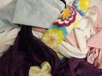 Assorted CUDDLESOFT Fleece Fabric Material Offcuts 1KG